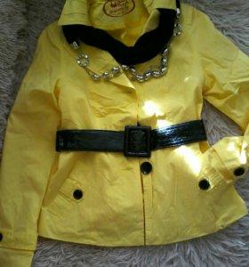 Стильная курточка-ветровка, р 44-46