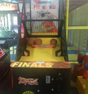 Игровой автомат, баскетбол