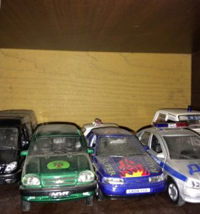 Модельки авто коллекционные любые две штуки за 500
