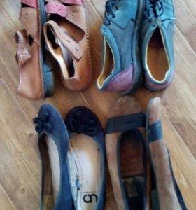 Обувь натурал.36 размер