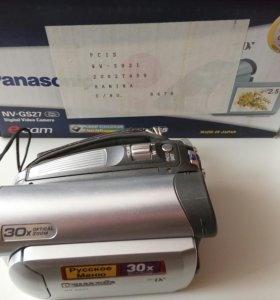 Видеокамера Panasonic NV GS27