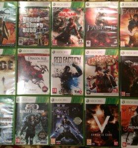 Лицензионные диски Xbox 360 и PS3