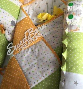 Комплект в кроватку новорождённого