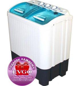 Стиральная машина Evgo WS-40PET + (подарок)