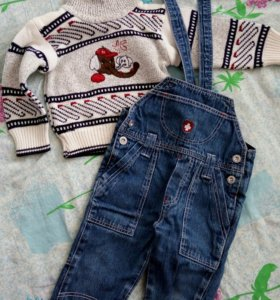 Комбинезон и свитер