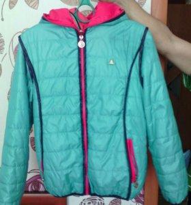 Куртка 40-42 двухсторонняя