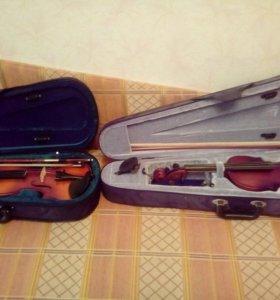 Скрипка половинка и 3/4 , 3000 и 4000