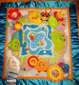 Развивающий коврик+ подарок
