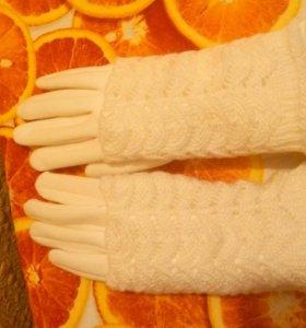 Женские перчатки, р-р 7,5
