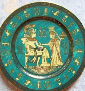 "Тарелка фарфоровая ""Египет""."