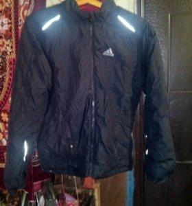 Куртка адидас двухсторония