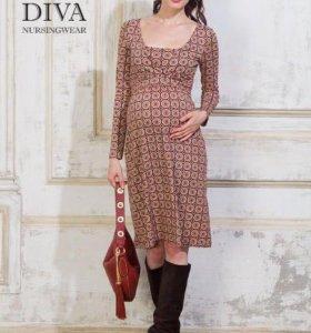 Платье Diva для беременных и кормящих
