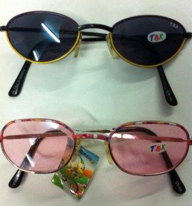Детские очки 2 шт