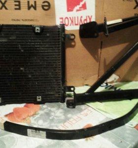 Радиатор кондицианера. Ауди А8