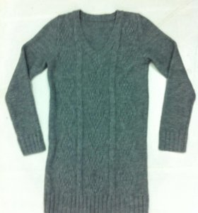 Удлинёный свитер