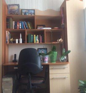 Подростковая стенка с угловым шкафом
