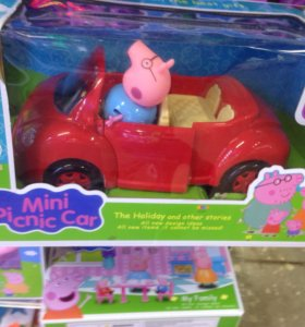 Свинка  пепа автомобиль