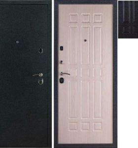 Входная дверь 3К Лайт Черный Бархат