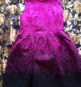 Яркое красивое платье