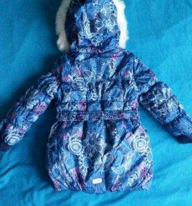 Новая зимняя куртка Barkito 116-122