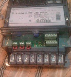 Счетчик 380 вольт трёх фазный меркурий 230 ART 01