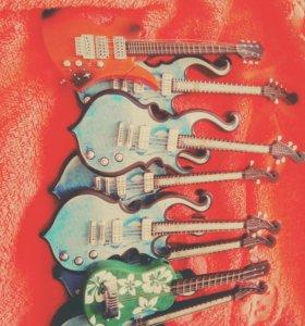 Зажигалки гитара светятся когда зажигаеш