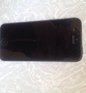 Продам iPhone 5 black 16gb