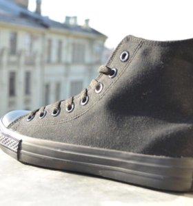 Кроссовки Converse High Top Black Nice