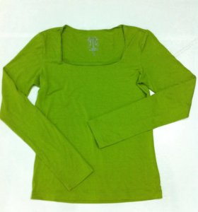Салатовая блузка 44-46