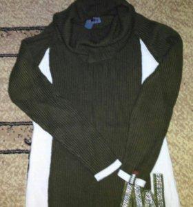 Пуловер новый Водолазка
