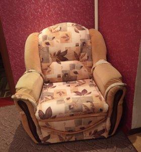 Диван уголок с креслом