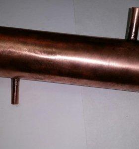 Теплообменник трубчатый бытовой