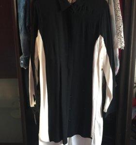 Рубашка длинная Topshop