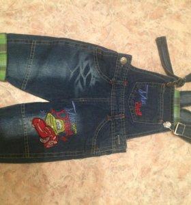 Комбинезон джинсовый новый