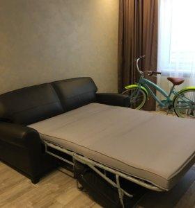 Кожаный диван ИКЕЯ