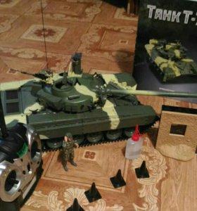 Радиоуправляемая модель Т-72