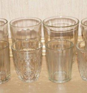 Коллекция рюмок и стаканов (СССР) - 18 штук