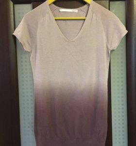 Блуза футболка трикотаж