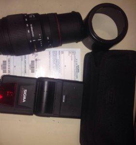 Sigma AF 70-300mm f/4-5.6 APO Macro DG Sony и Sigm