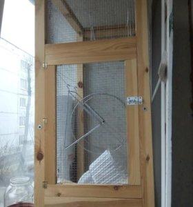 Клетка для грызунов или птиц 120х46х65 см