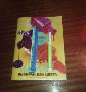 Тени- карандаш для век неоновая радуга