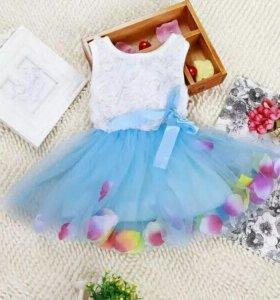 Платье новое 1-2г
