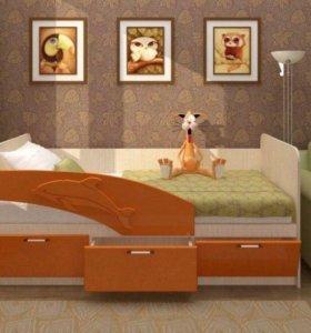 Кровать детская 160см новая