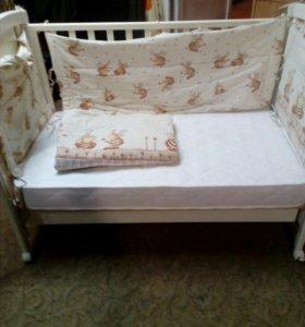 Кроватка детская Erbesi