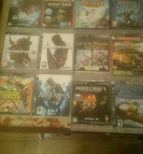 Диски Игры PS3 обмен продажа