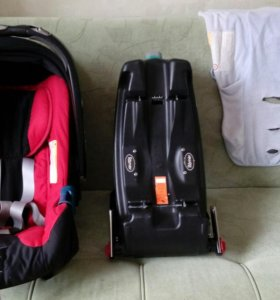 Автолюлька Britax Romer Baby-Safe plus SHR II+база