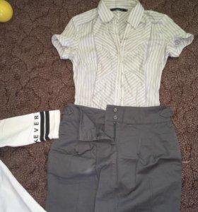Юбка рубашка туника