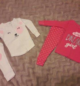 Пижамы Carter's для девочки 86р