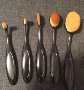 Новые кисти для макияжа