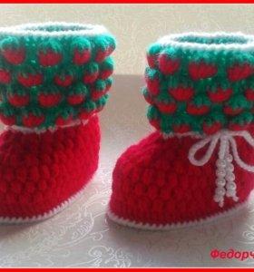 Принимаю заказы на вязание для малышей